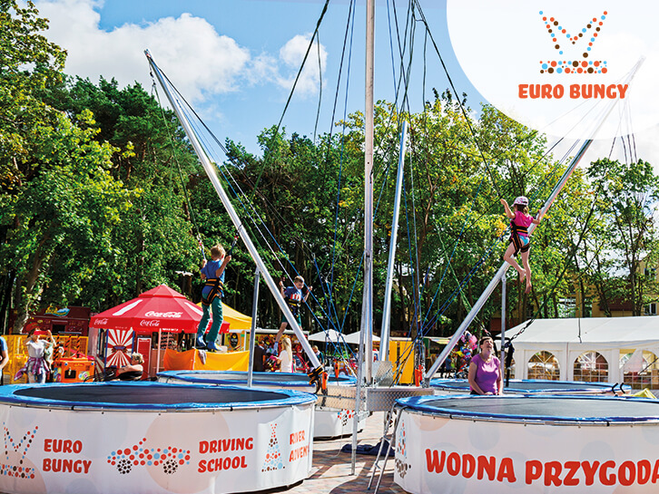 Eurobungy – Trampoliny Bungee